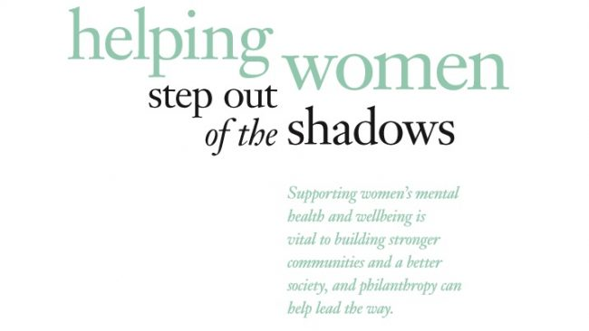 Issue Brief: Supporting Women's Mental Health and Wellbeing