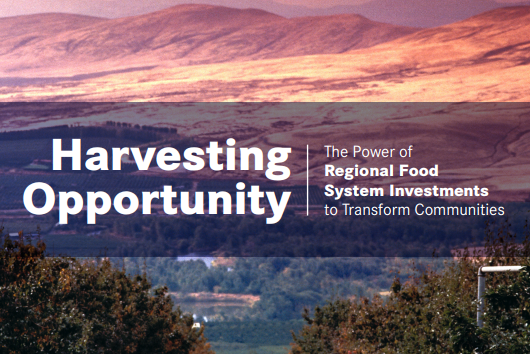 New Book on Transforming Communities by Investing in Regional Food Systems