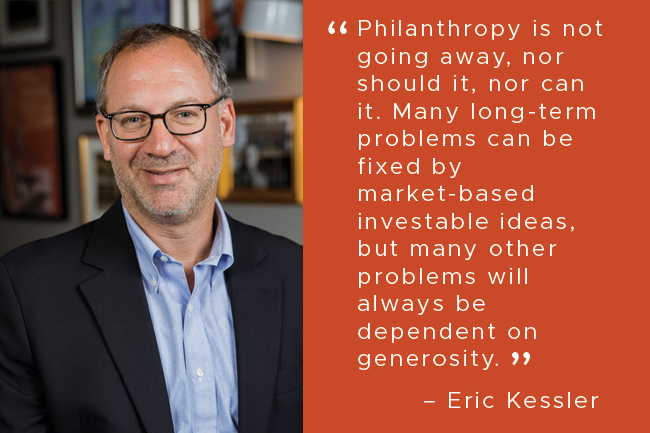Impact Investing as a Complement to Traditional Philanthropy