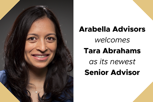 Tara Abrahams Joins Arabella Advisors as Senior Advisor