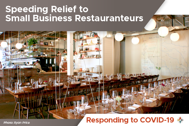Speeding Relief to Small Business Restauranteurs
