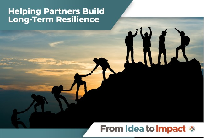 Helping Partners Build Long-Term Resilience