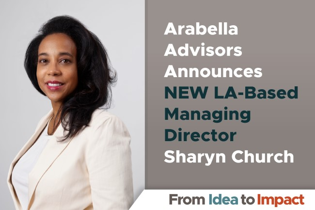 Sharyn Church Joins Arabella Advisors as New Managing Director for Southern California