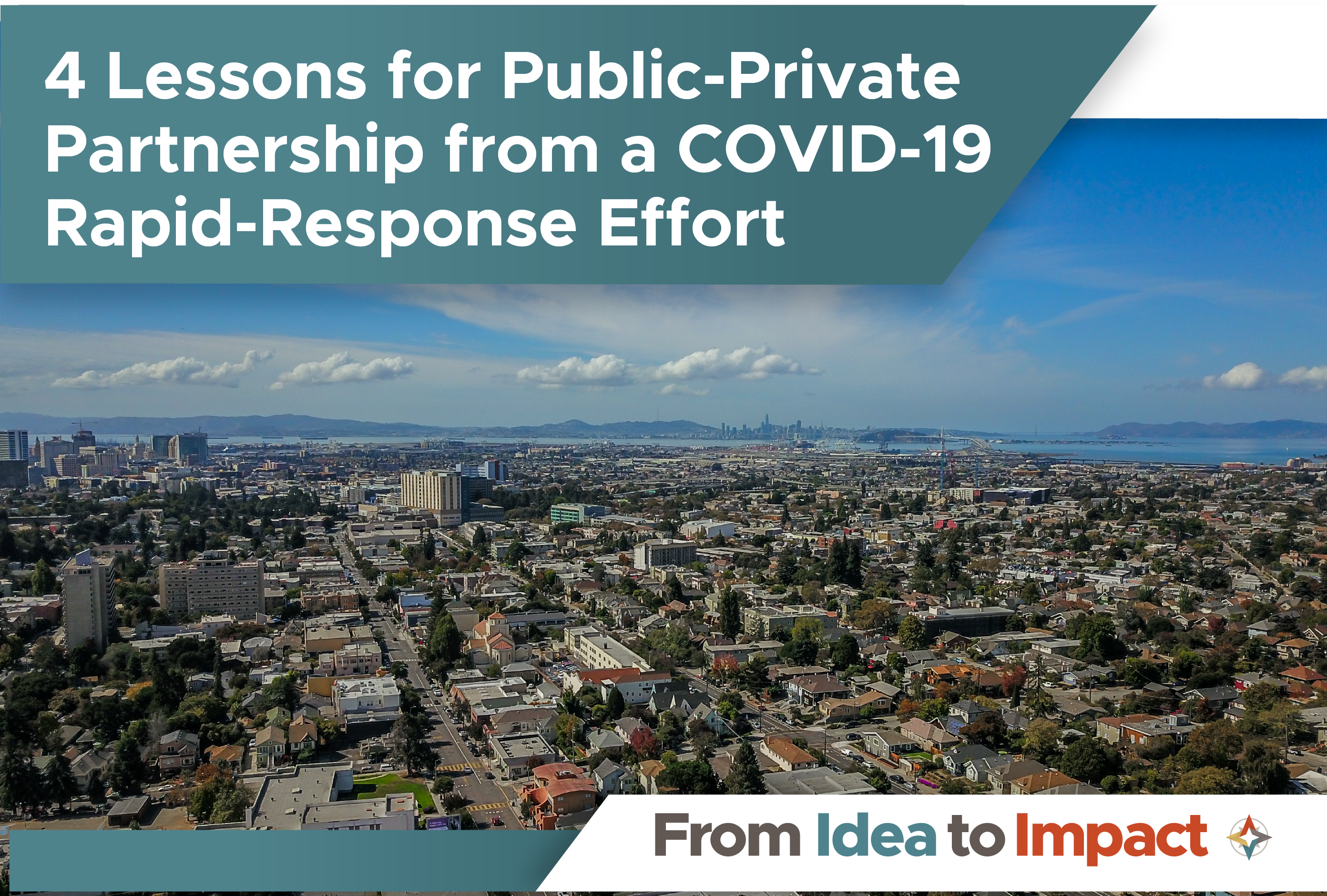 4 Lessons For Public-Private Partnership from a COVID-19 Rapid-Response Effort