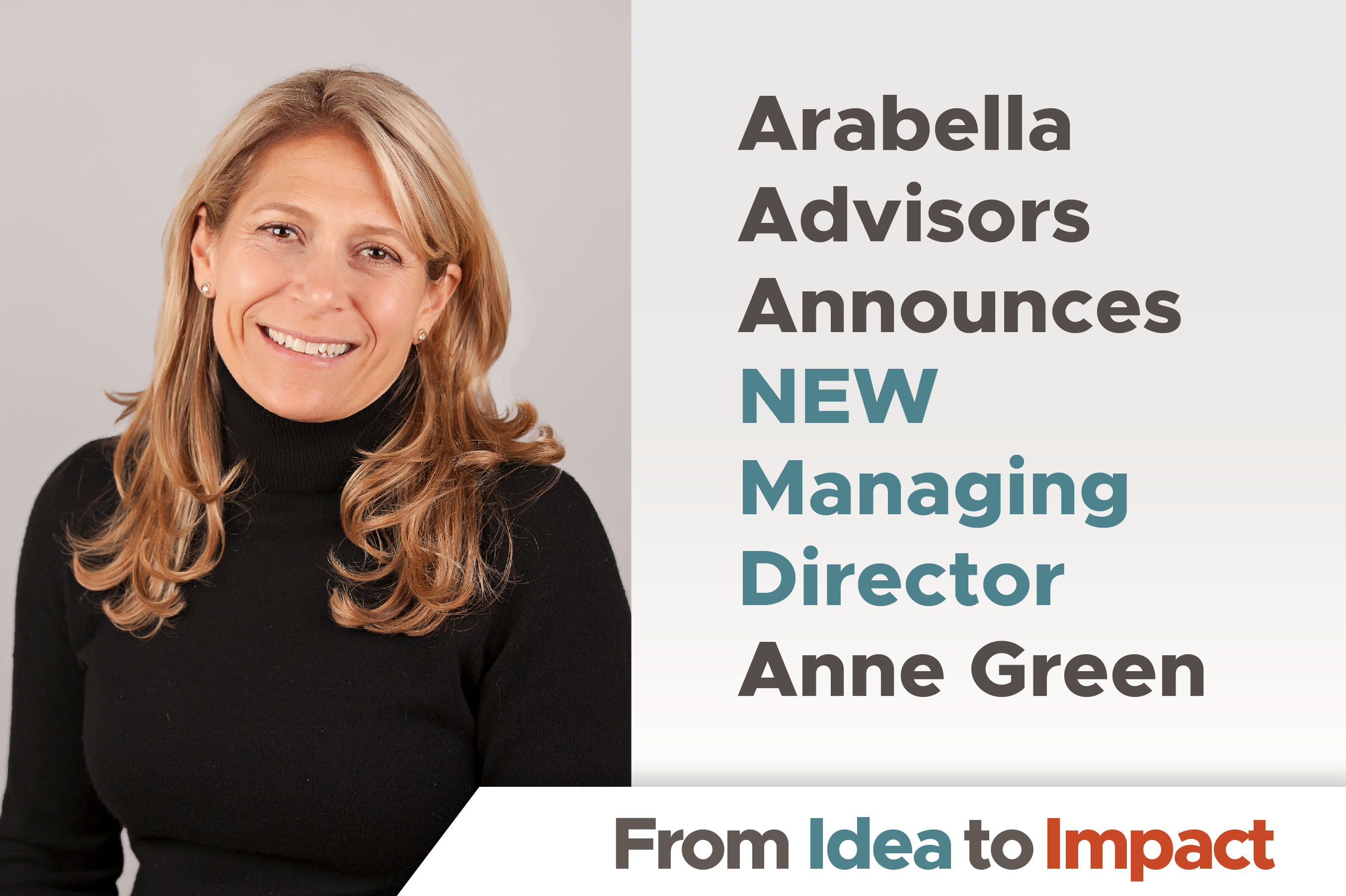 Arabella Advisors Announces Anne Green as New Managing Director for Pacific Northwest