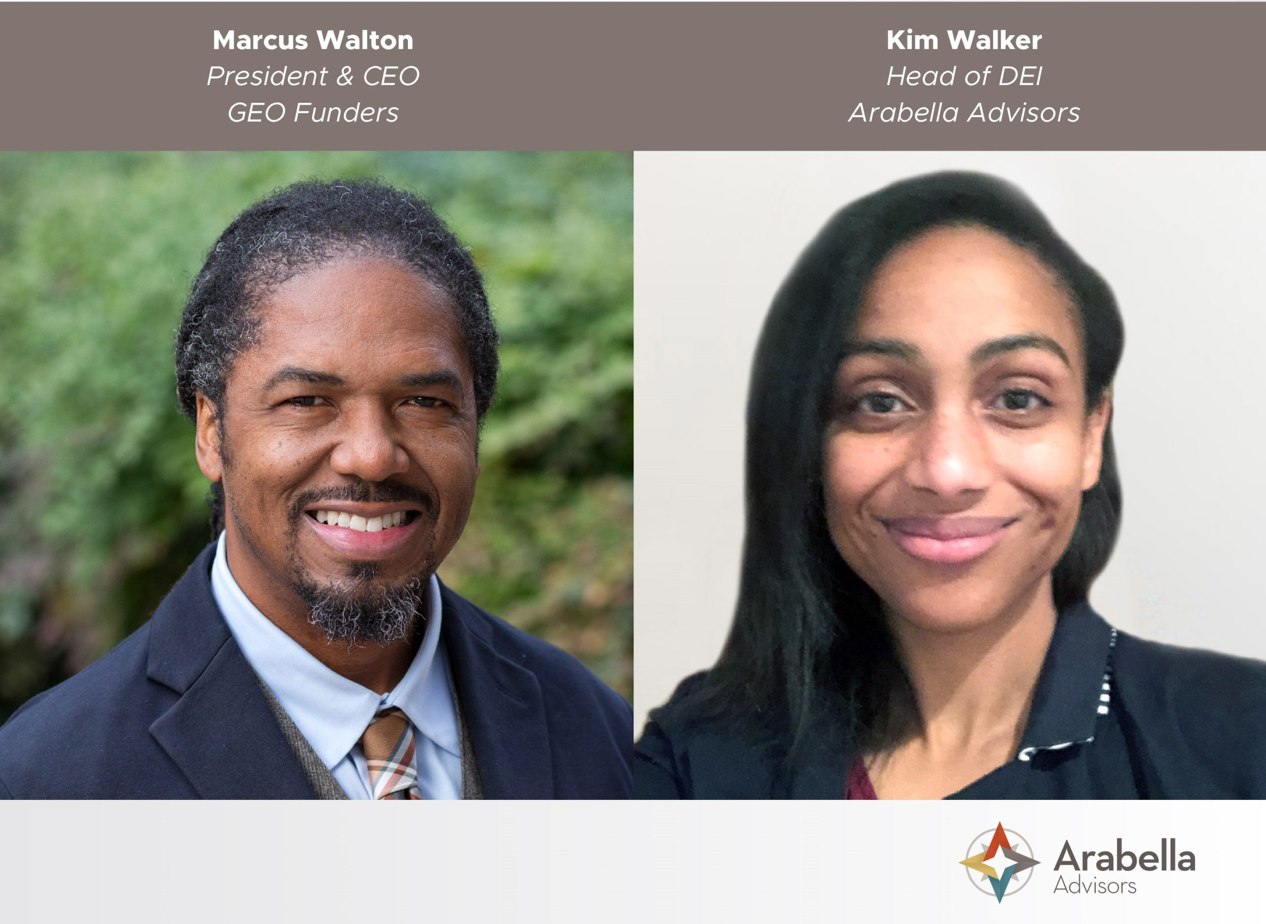 Marcus Walton and Grantmakers for Effective Organizations
